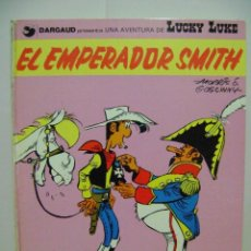 Cómics: LIBRO DE LUCKY LUKE , EL EMPERADOR SMITH.. Lote 79179897