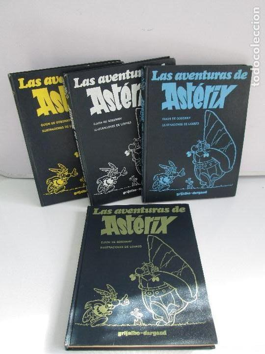 TURAS DE ASTERIX. TOMO 1/3/4/6. COMICS GRIJALBO DARGAUD. 1983. VER FOTOGRAFIAS ADJUNTAS (Tebeos y Comics - Grijalbo - Asterix)