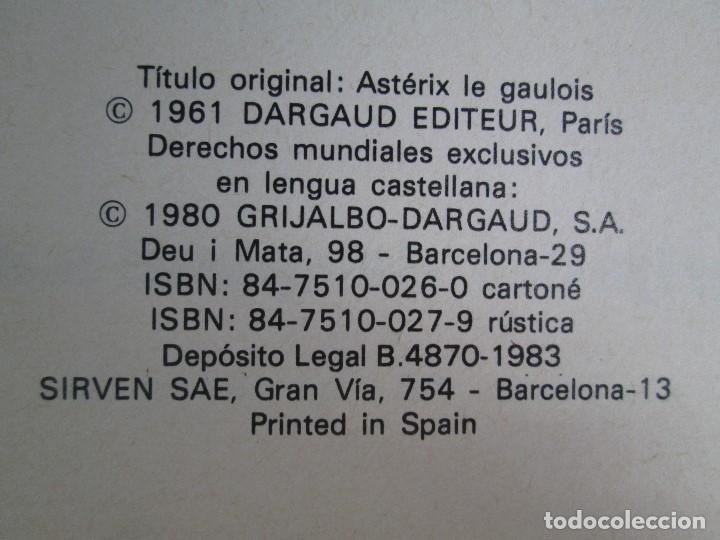 Cómics: TURAS DE ASTERIX. TOMO 1/3/4/6. COMICS GRIJALBO DARGAUD. 1983. VER FOTOGRAFIAS ADJUNTAS - Foto 7 - 79243517