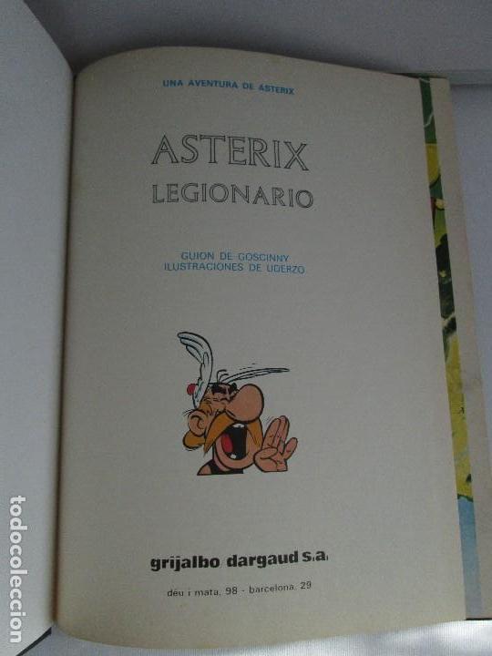 Cómics: TURAS DE ASTERIX. TOMO 1/3/4/6. COMICS GRIJALBO DARGAUD. 1983. VER FOTOGRAFIAS ADJUNTAS - Foto 15 - 79243517