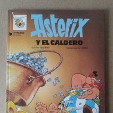 Cómics: ASTERIX Y EL CALDERO, DE GOSCINNY Y UDERZO. GRIJALBO / DARGAUD, 1981. EDICIÓN EN CARTONÉ.. Lote 79723161