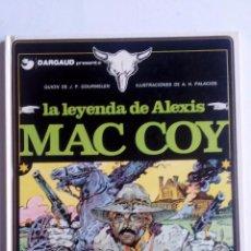 Comics: MAC COY LA LEYENDA DE ALEXIS-Nº 1-GRIJALBO-DARGAUD-1981-TAPAS DURAS-EXCELENTE ESTADO.VER FOTOGRAFÍAS. Lote 79881005
