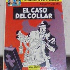 Cómics: LAS AVENTURAS DE BLAKE Y MORTIMER. EL CASO DEL COLLAR. Nº 7. EDICIONES JUNIOR. 1981. Lote 79960125