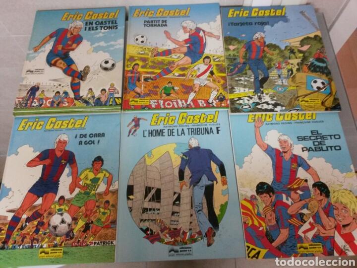6X ERIC CASTEL NO 1 AL 6 JUNIOR GRIJALBO 1979/1982 (3 CATALA-3 CASTELLANO) MUY BUEN ESTADO (Tebeos y Comics - Grijalbo - Eric Castel)