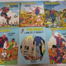 Cómics: 6X ERIC CASTEL NO 1 AL 6 JUNIOR GRIJALBO 1979/1982 (3 CATALA-3 CASTELLANO) MUY BUEN ESTADO. Lote 80071330