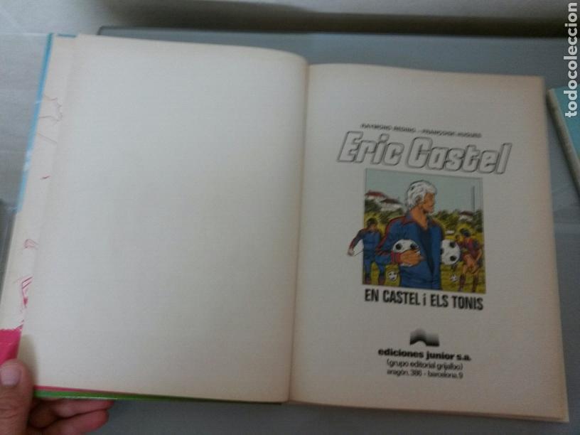 Cómics: 6x ERIC CASTEL No 1 al 6 JUNIOR GRIJALBO 1979/1982 (3 CATALA-3 CASTELLANO) MUY BUEN ESTADO - Foto 4 - 80071330