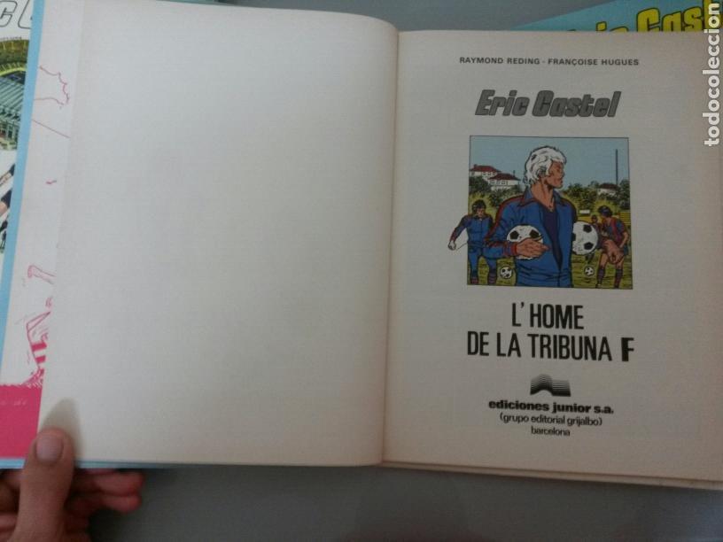 Cómics: 6x ERIC CASTEL No 1 al 6 JUNIOR GRIJALBO 1979/1982 (3 CATALA-3 CASTELLANO) MUY BUEN ESTADO - Foto 8 - 80071330