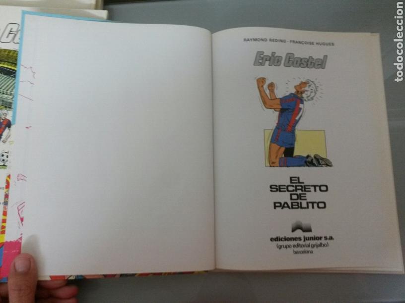 Cómics: 6x ERIC CASTEL No 1 al 6 JUNIOR GRIJALBO 1979/1982 (3 CATALA-3 CASTELLANO) MUY BUEN ESTADO - Foto 9 - 80071330