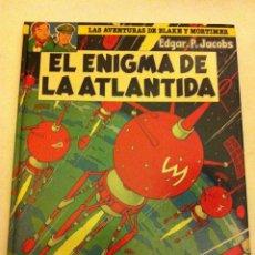 Cómics: EL ENIGMA DE LA ATLÁNTIDA - (BLAKE Y MORTIMER) - TAPA DURA. Lote 80384661