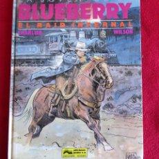 Cómics: LA JUVENTUD DE BLUEBERRY Nº 28 , EL RAID INFERNAL , CHARLIER - WILSON. Lote 80465753