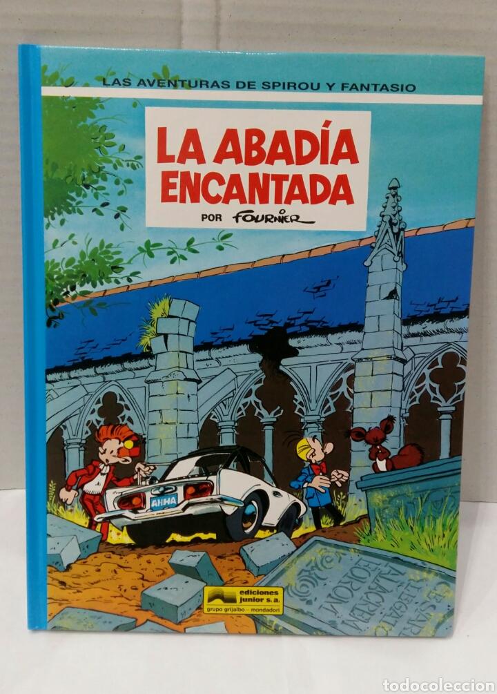LAS AVENTURAS DE SPIROU Y FANTASIO. LA ABADÍA ENCANTADA. NUEVO. FOURNIER. GRIJALBO. NÚMERO 35. 1994. (Tebeos y Comics - Grijalbo - Spirou)