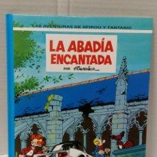 Cómics: LAS AVENTURAS DE SPIROU Y FANTASIO. LA ABADÍA ENCANTADA. NUEVO. FOURNIER. GRIJALBO. NÚMERO 35. 1994.. Lote 80676874