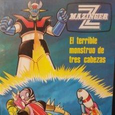 Cómics: MAZINGER Z. EL TERRIBLE MONSTRUO DE TRES CABEZAS.VOL.5 EDICIÓN 1978.. Lote 80750034