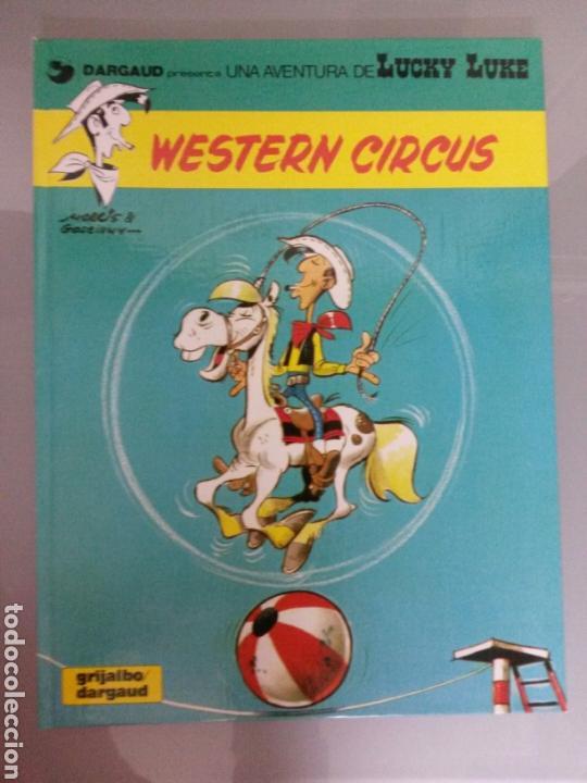 LUCKY LUKE 1981 NO 15 WESTERN CIRCUS GRIJALBO (Tebeos y Comics - Grijalbo - Lucky Luke)