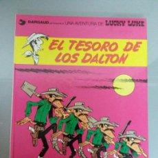 Cómics: LUCKY LUKE 1982 NO 19 EL TESORO DE LOS DALTON GRIJALBO. Lote 81041598