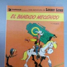 Cómics: LUCKY LUKE 1982 NO 19 EL BANDIDO MECANICO GRIJALBO. Lote 81042156