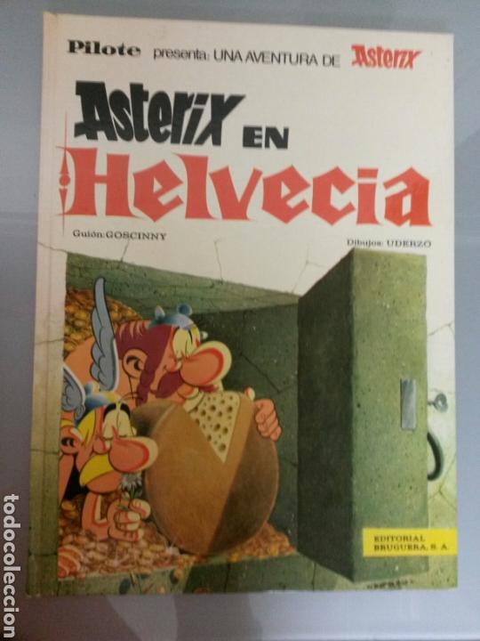 ASTERIX EN HELVECIA PILOTE 21 1970 BRUGUERA 1A EDICION (Tebeos y Comics - Grijalbo - Lucky Luke)