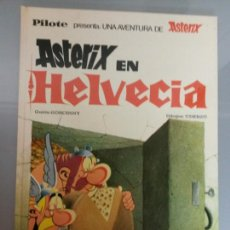 Cómics: ASTERIX EN HELVECIA PILOTE 21 1970 BRUGUERA 1A EDICION. Lote 81045570