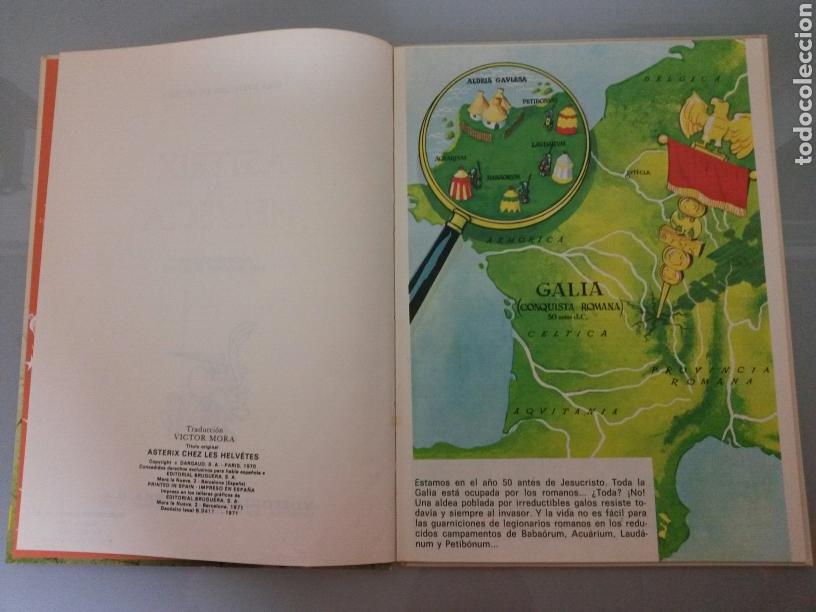 Cómics: ASTERIX EN HELVECIA PILOTE 21 1970 BRUGUERA 1a EDICION - Foto 5 - 81045570
