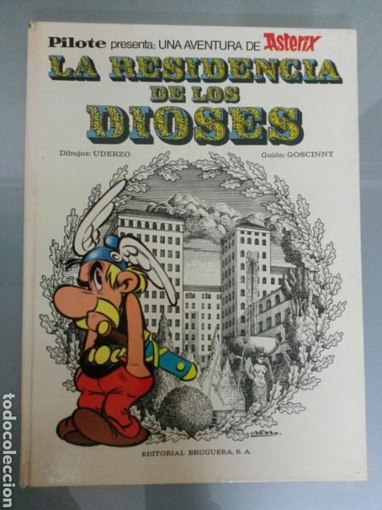 ASTERIX LA RESIDENCIA DE LOS DIOSES PILOTE 26 1972 BRUGUERA 1A EDICION (Tebeos y Comics - Grijalbo - Asterix)