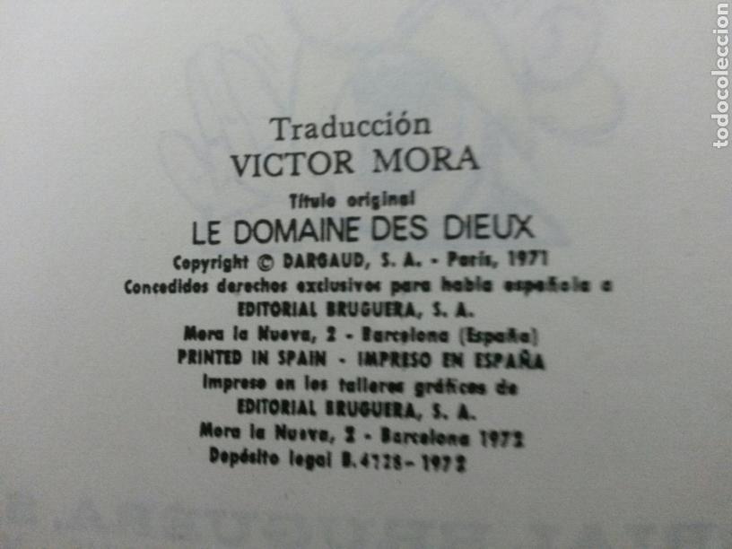 Cómics: ASTERIX LA RESIDENCIA DE LOS DIOSES PILOTE 26 1972 BRUGUERA 1a EDICION - Foto 4 - 81275491