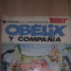 Cómics: ASTERIX OBELIX Y COMPAÑIA GRIJALBO 1976 REF. 049. Lote 81551520