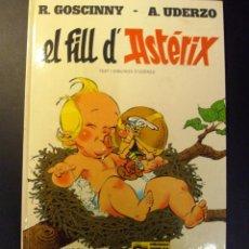 Cómics: COMIC ASTERIX EL FILL DE ASTERIX EN CATALAN TAPA DURA EDIT JUNIOR. Lote 81593904