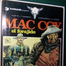 Cómics: MAC COY EL FORAGIDO. Lote 81598368