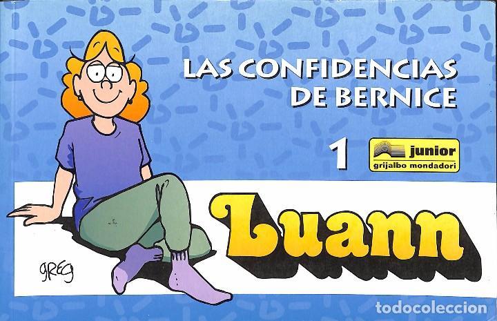LAS CONFIDENCIAS DE BERNICE 1 - LUANN (Tebeos y Comics - Grijalbo - Otros)