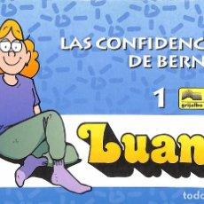 Cómics: LAS CONFIDENCIAS DE BERNICE 1 - LUANN. Lote 81650696