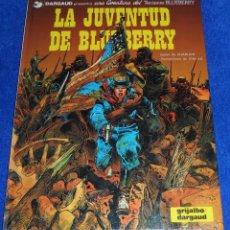 Cómics: LA JUVENTUD DE BLUEBERRY - UNA AVENTURA DEL TENIENTE BLUEBERRY- GRIJALBO (1980). Lote 81724364
