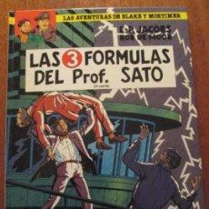 Cómics: BLAKE Y MORTIMER LAS 3 FORMULAS DEL PROFESOR SATO. Lote 81871316