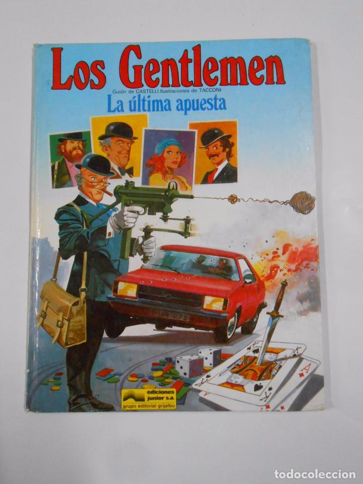 LOS GENTLEMEN. LA ULTIMA APUESTA. EDICIONES JUNIOR GRIJALBO. TDKC22 (Tebeos y Comics - Grijalbo - Otros)