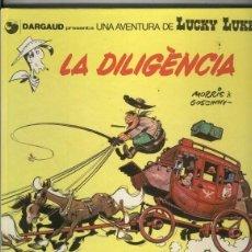 Cómics: LUCKY LUKE LA DILIGENCIA (EN CATALAN 1º EDICION 1983). Lote 82114280