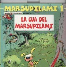 Comics : MARSUPILAMI 1, LA CUA DEL MARSUPILAMI. ED. SALVAT 2002. NOU. Lote 82524532