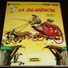 Cómics: LUCKY LUKE - LA DILIGÈNCIA - MORRIS & GOSCINNY - GRIJALBO/DARGAUD - 1983 - EN CATALÁN. Lote 82870520
