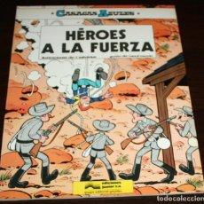 Cómics: CASACAS AZULES - HÉROES A LA FUERZA - SALVÉRIUS / CAUVIN - EDICIONES JUNIOR - 1984. Lote 82874912