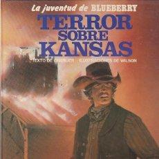 Comics : COMIC TENIENTE BLUEBERRY TERROR SOBRE KANSAS. Lote 83301716