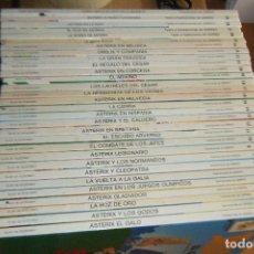 Cómics: LAS AVENTURAS DE ASTERIX LOTE 33 TOMOS COMPLETA NUMERADA Y EXTRA GRIJALBO DARGAUD TAPA DURA. Lote 144062022