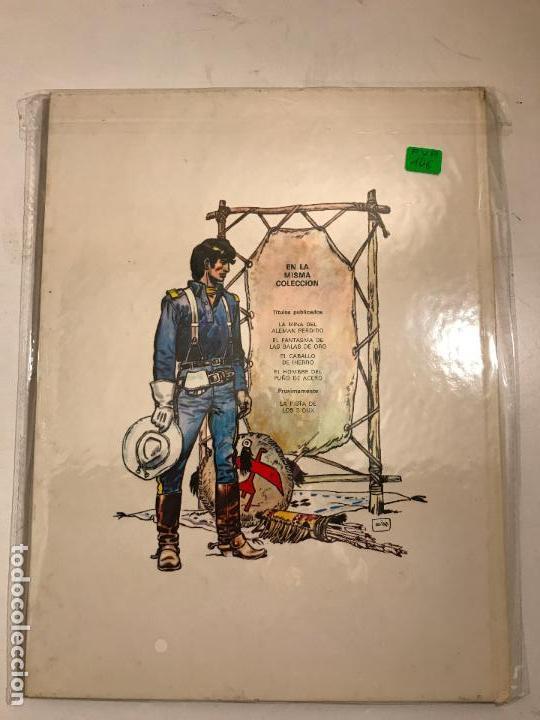 Cómics: EL TENIENTE BLUEBERRY Nº 4. EL HOMBRE DEL PUÑO DE ACERO. GRIJALBO 1977 - Foto 2 - 83921108