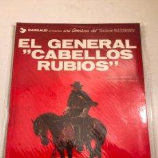 Cómics: EL TENIENTE BLUEBERRY Nº 6. EL GENERAL CABELLOS RUBIOS. GRIJALBO 1978. Lote 83921184