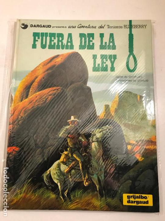 EL TENIENTE BLUEBERRY Nº 10. FUERA DE LA LEY. GRIJALBO 1980 (Tebeos y Comics - Grijalbo - Blueberry)