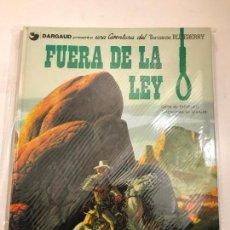 Cómics: EL TENIENTE BLUEBERRY Nº 10. FUERA DE LA LEY. GRIJALBO 1980. Lote 83921404