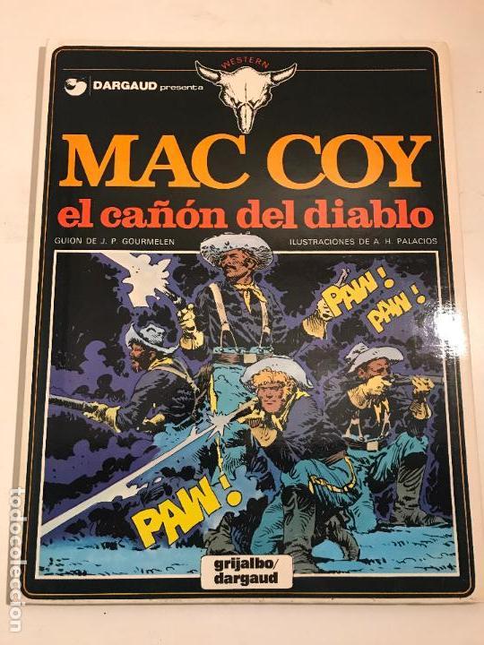 MAC COY Nº 9. EL CAÑON DEL DIABLO. GRIJALBO 1982 (Tebeos y Comics - Grijalbo - Mac Coy)