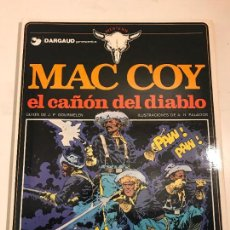 Cómics: MAC COY Nº 9. EL CAÑON DEL DIABLO. GRIJALBO 1982. Lote 83924176