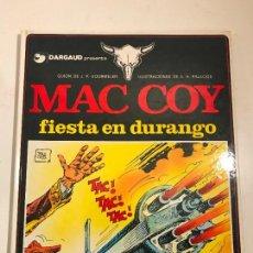 Cómics: MAC COY Nº 10. FIESTA EN DURANGO. GRIJALBO 1983. Lote 83924248