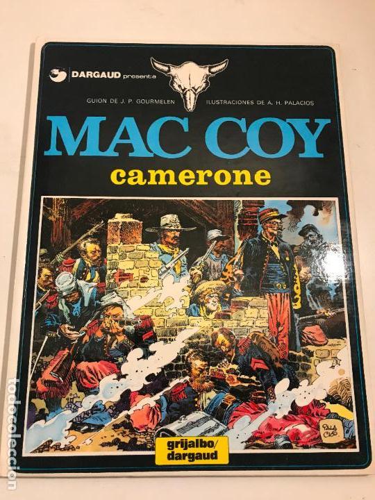 MAC COY Nº 11. CAMERONE. GRIJALBO 1984 (Tebeos y Comics - Grijalbo - Mac Coy)