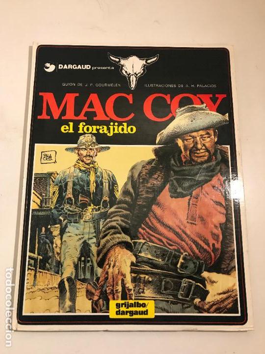 MAC COY Nº 12. EL FORAJIDO. GRIJALBO 1985 (Tebeos y Comics - Grijalbo - Mac Coy)