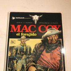 Cómics: MAC COY Nº 12. EL FORAJIDO. GRIJALBO 1985. Lote 87715715