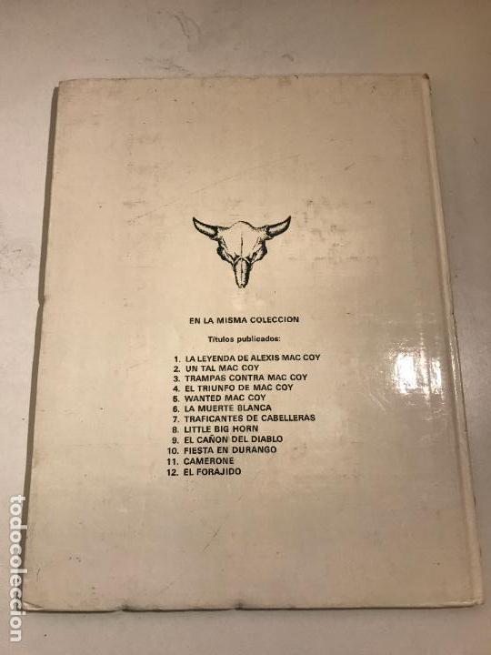 Cómics: MAC COY Nº 12. EL FORAJIDO. GRIJALBO 1985 - Foto 3 - 87715715